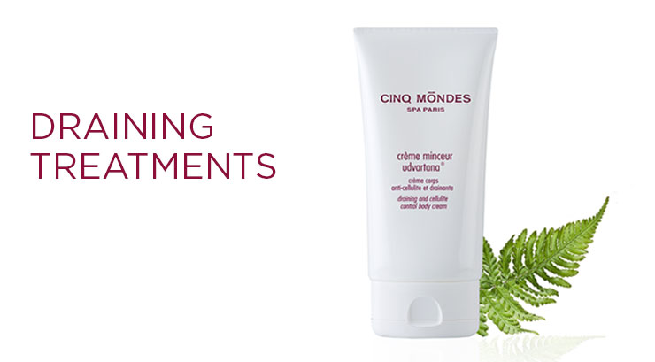 Cinq Mondes: Draining Treatments