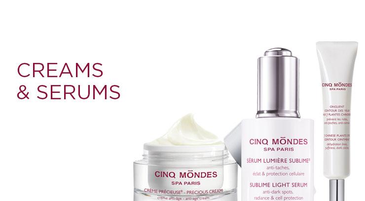 Cinq Mondes: Creams & Serums